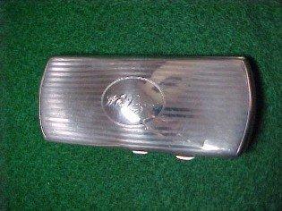Webster Sterling Case for glasses - Silver