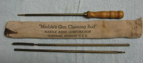 old MARBLES Gun CLeaning Rod - Antique Sporting