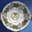 old Paragon 1951 Princess Elizabeth & Duke of Edinburgh Souvenir Visit to Canada - Antique Porcelain