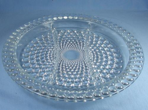 Boopie Glass RELISH dish Server