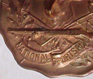 BUCK National Sportsman Watch Fob - Sporting