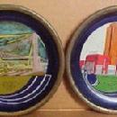 World's Fair 1933 Coaster Pictoral Set 6- Metalware