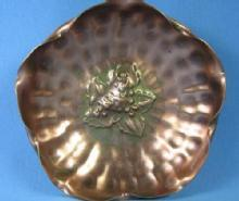 Gregorious COPPER Dish Bowl - Vintage Metalware with original label