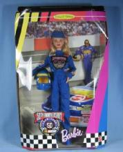 old vintage Barbie NASCAR 50th Anniversary Collector Edition Toy Doll - Mint in Original Box