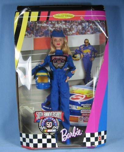 Barbie NASCAR 50th Anniversary Collector Edition Toy Doll - Mint in Original Box