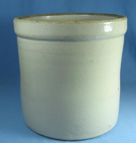 Kitchen  Antique Stoneware Crock - Classic Storage Vessel