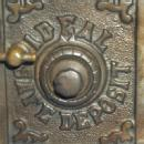 Ideal Safe Deposit COMBINATION SAFE Cast Iron Bank - Metalware