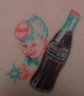 Coca Cola SPRITE BOY STARR Bottle Opener - Advertising