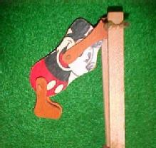 MICKEY MOUSE TRAPEEZE Wood - Toy