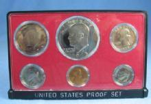US Mint 1973 PROOF Set Kennedy Dollar 6-Coin Collectible