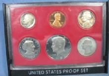 US Mint 1981 PROOF Set with Type 2 Clear Susan B Anthony  6-Coin Set -  Collectible