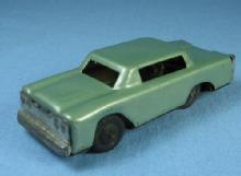 vintage Marx Friction Toy Car Tin Sedan Japan