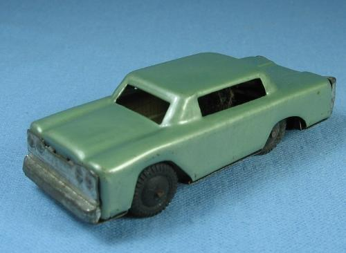 vintage Marx Friction Toy Car Tin Sedan Japan