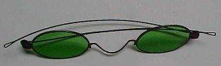 Green VINTAGE  Sunglasses - Miscellaneous