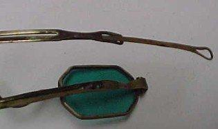 Cival War Blue Green Sunglasses - Military