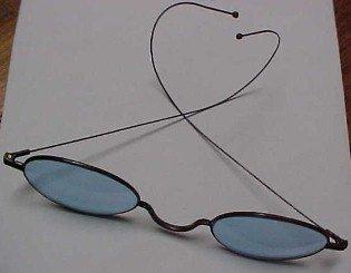 Blue Vintage Sunglasses - Miscellaneous