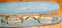 CIVIL WAR Vintage Eye Glasses SPECKS - Military
