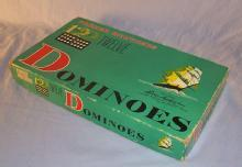 PARKER Double 12 Domino Set in Original Box - Toys