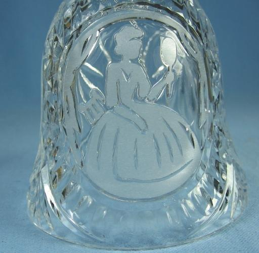 MY LADY Hand Bell - Lovely Maidan Glass Bell