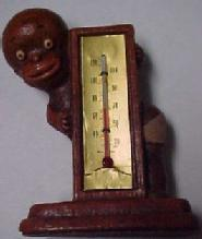 49 Black Boy Thermometer - Miscellaneous