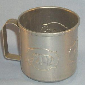 Child,s Aluminum Drinking Cup - Metalware