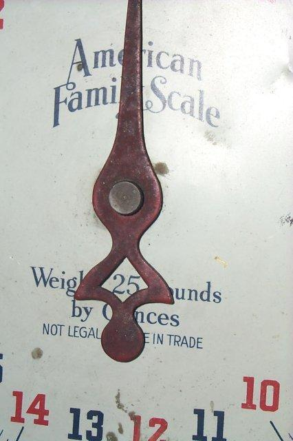 AMERICAN FAMILY SCALE Household Scale - Metalware