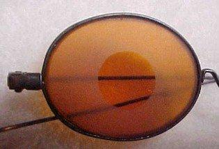Civil War Shooter's Sunglasses  - Glass