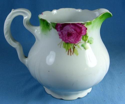 Pottery  German Lemonade Pitcher - Antique Porcelain China