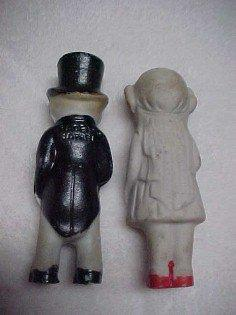 Bride + Groom Wedding Cake Dolls - Toys