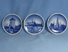 Royal Copenhagen Denmark Porcelain Miniature Plate GRoup