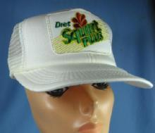 Vintage new  Diet SQUIRT Plus Advertising Hat 1980's