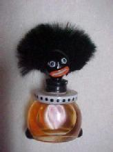 Golli Golliwogg Perfume Bottle - Glass