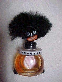 Golli Golliwogg Perfume Bottle - Glass