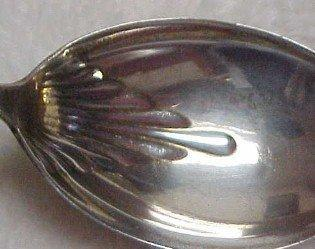 Gorham Sugar Shell Spoon - Silver