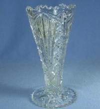 old vintage EAPG Tulip Vase - Antique Pattern Glass