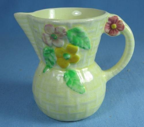 CZECH Creamer - Vintage DUTCH Scene Pitcher