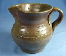 Jugtown Art Pottery TOBACCO SPIT Pitcher - Older Mark Pottery
