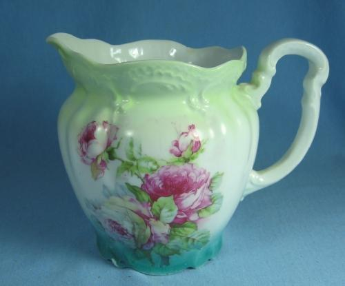 Dresden  Meissen Hand Painted Porcelain Pitcher