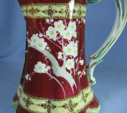 Nippon Porcelain CHOCOLATE Pot - Antique Porcelain