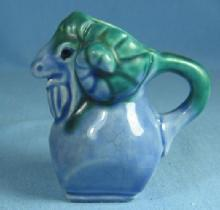 Miniature Figural RAM or GOAT Creamer Pitcher - Vintage Pottery