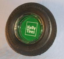 KELLY -SPRINGIELD Tire Ashtray - Tobacciana
