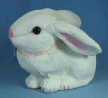 Easter Papier Mache RABBIT Figure - Easter Spring or Holiday  Decoration
