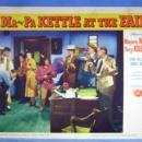 MA & PA KETTLE at  the FAIR 1952 Original Lobby Card Sign Group