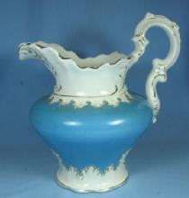 Pottery  Water  Milk PITCHER - Mellor Etruria Porcelain 1890's