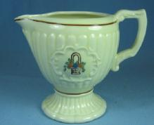 Pottery  Homer Laughlin Cream Pitcher