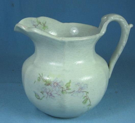 Pottery  Salt Glaze Cream Pitcher
