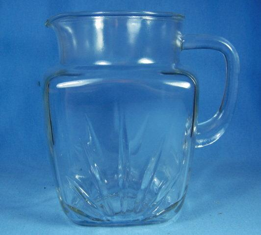 Kitchen Federal Glass Company STAR Lemonade Pitcher