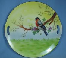 R. S. Prov Saxe Germany Porcelain Plate