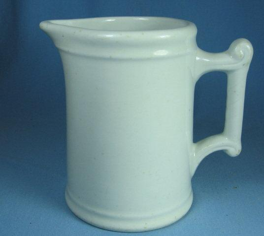 IRONSTONE Milk Pitcher - Antique Stoneware pottery