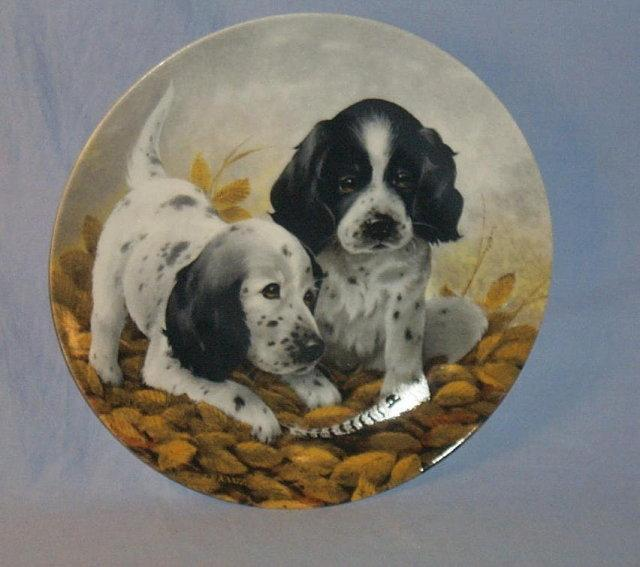 Knowles SHIRT TALES - THE COCKER SPANIEL Porcelain Plate